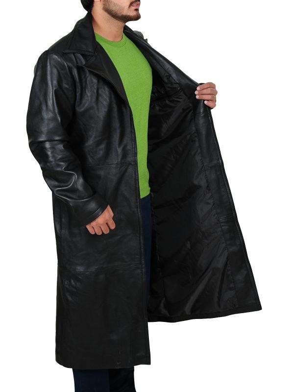 fashionable jacket, real leather jacket