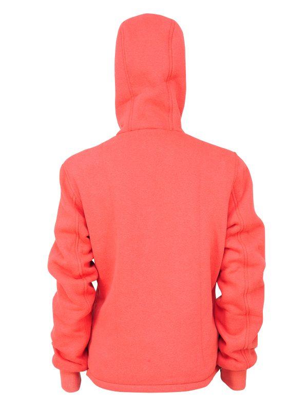 Skin fit hoodie, Pink girly hoodie