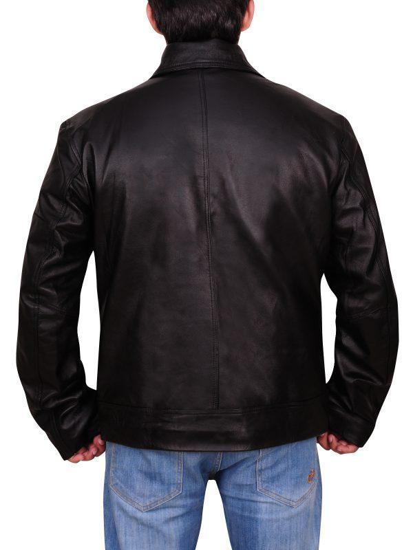 motorbike leather jacket, Chic leather jacket