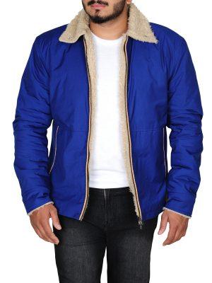 Classic blue jacket, teen jacket