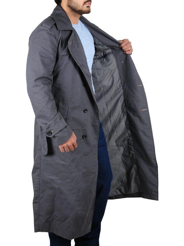 stylish long coat, attractive long coat
