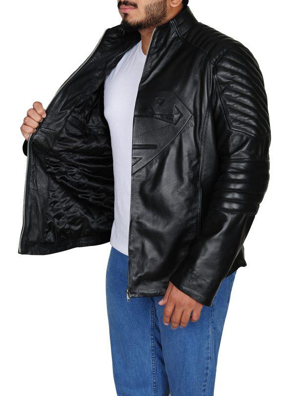 Black leather jacket, trending jacket