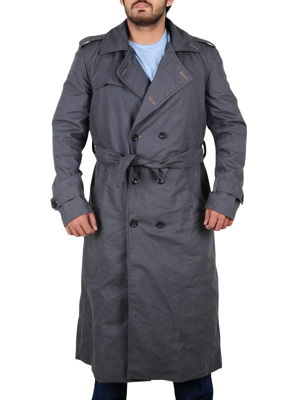 unique color coat, super classy long coat