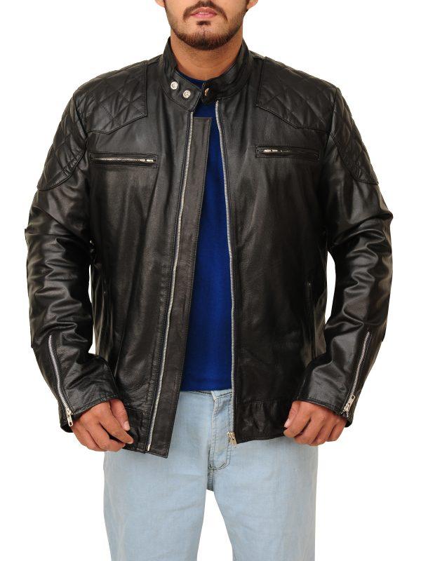 designer leather jacket, real leather jacket