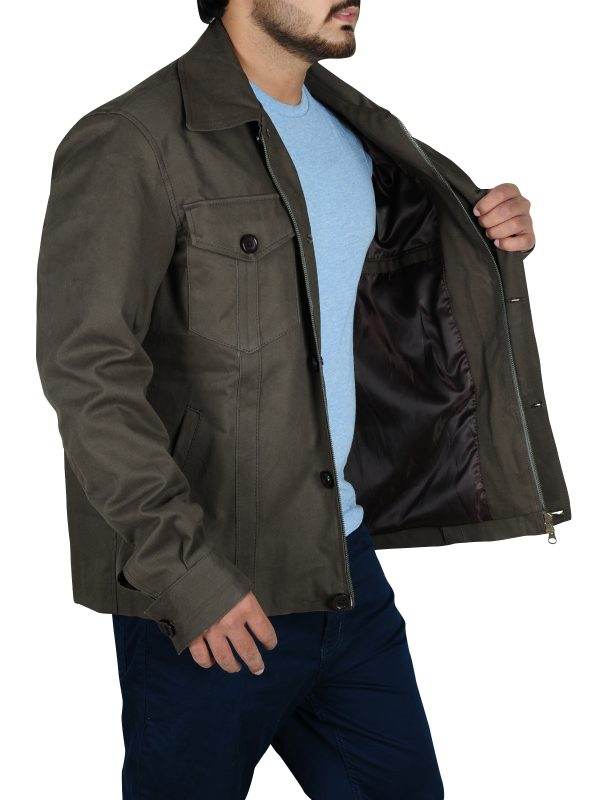 cool cotton jacket, jacket with big pockets