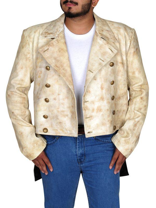 Charlie Prince jacket, white jacket
