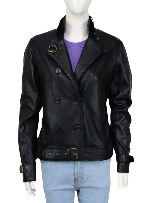 winter collection, leather jacket
