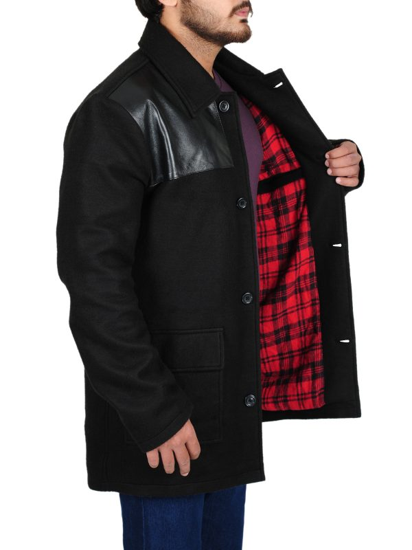 good quality black coat, famous black coat