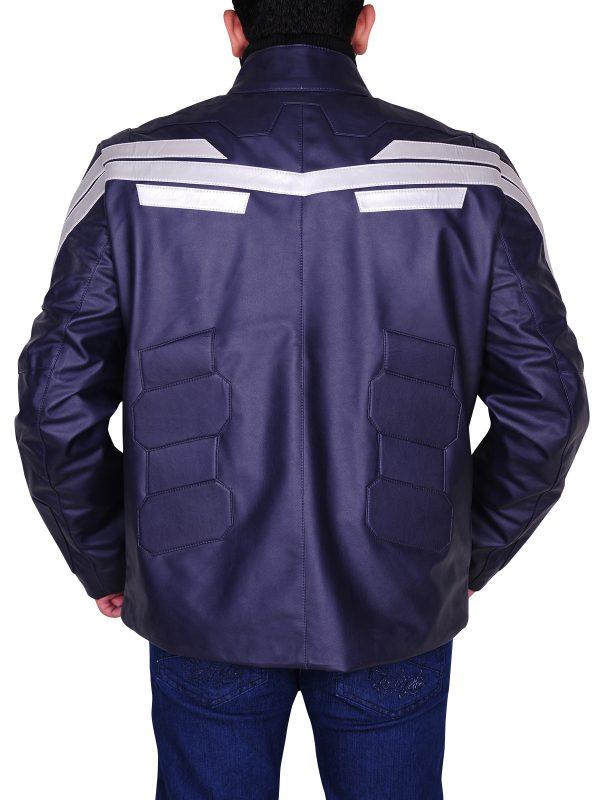 chris evans leather jacket, stylish leather jacket