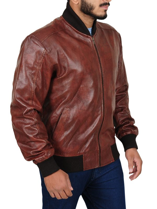 stylish brown jacket, fitted jacket