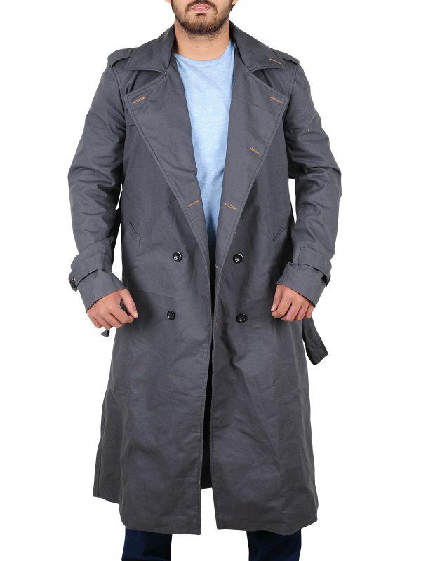 best quality long coat, slim fit coat