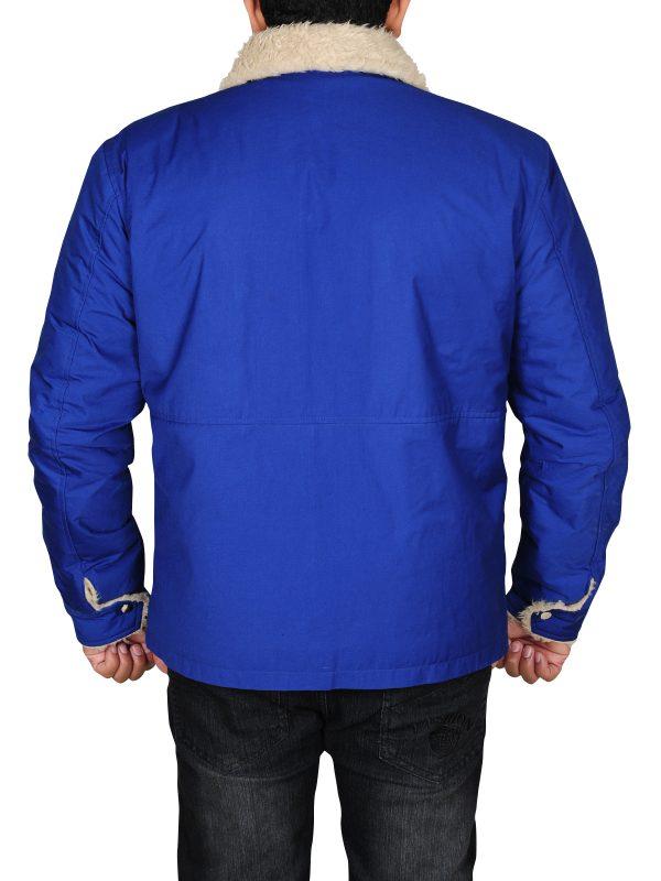 blue color jacket, tom hardy jacket