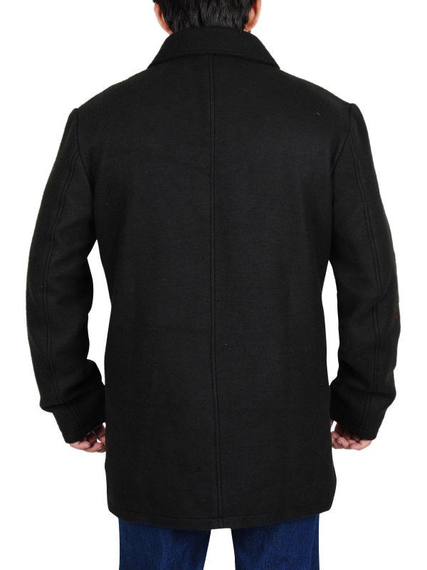 celebrity black coat, best for winters coat