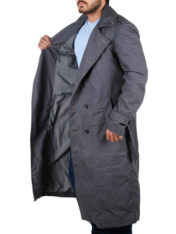 smat long coat, hand made long coat