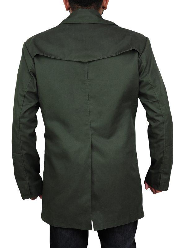 smart clothing, trending green coat