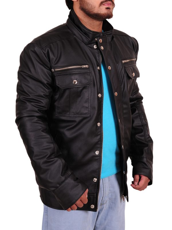 cool leather jacket, winter leather jacket