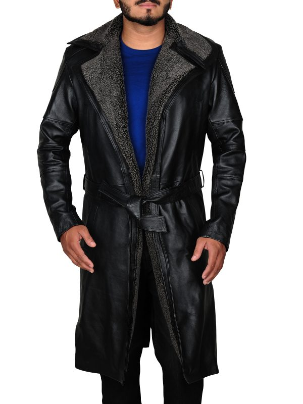 stylish long coat, ryan gosling long coat