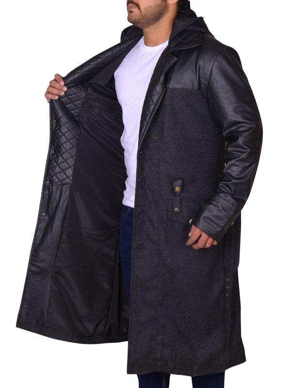 movie jacket, black leather jacket