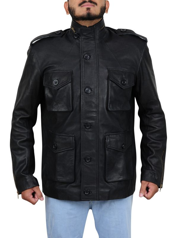 cool leather jacket, best fit