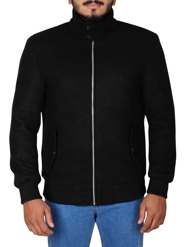slim fit leather jacket, perfect fit fleece jacket