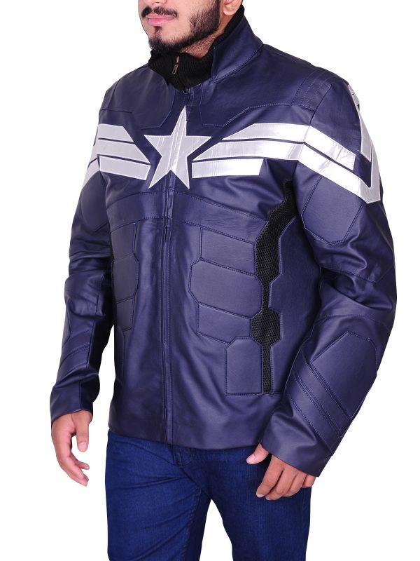 winter soldier jacket, unique jacket