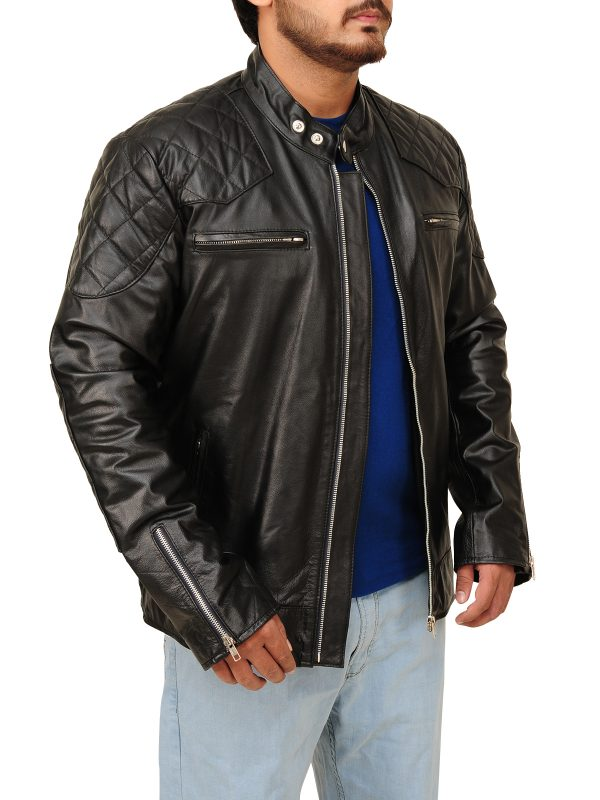 low price leather jacket, winter collection men