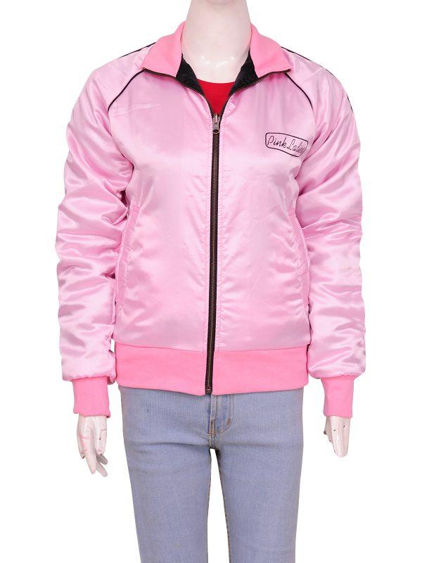 cool pink jacket, celeberity jacket
