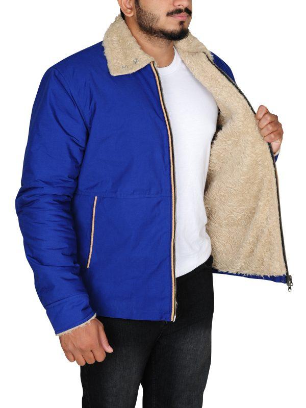 fur jacket, collar style jacket