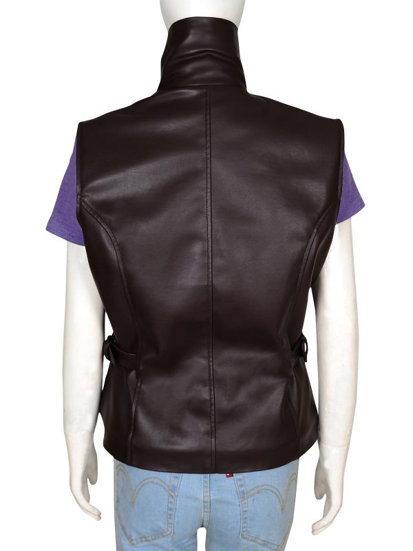cute brown leather jacket, hot brown leather jacket