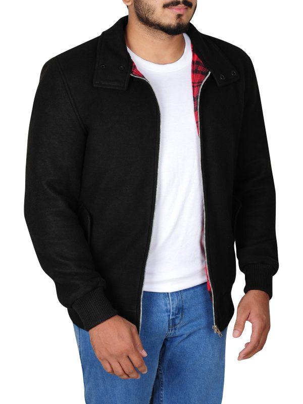 celebrity jacket, famous fleece jacket
