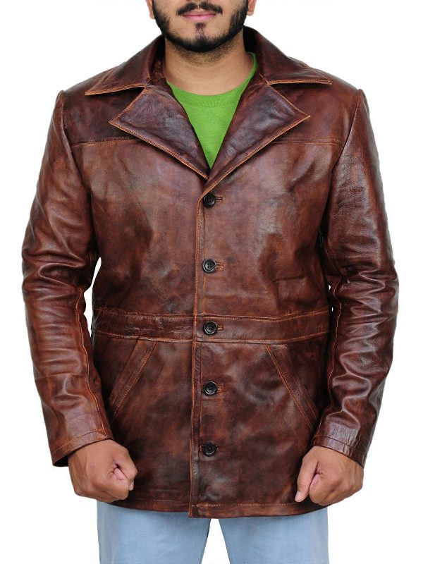 celebrity leather jacket, branded leather jacket