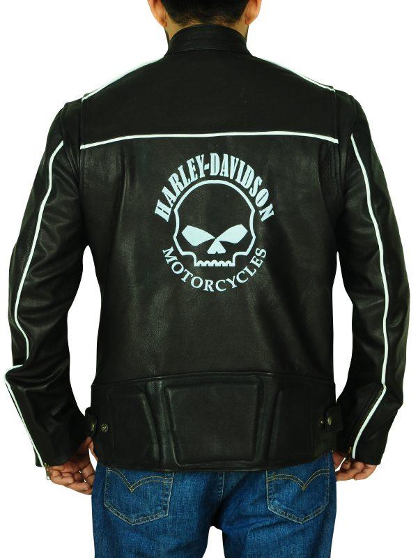 black biker jacket, harley davidson jacket