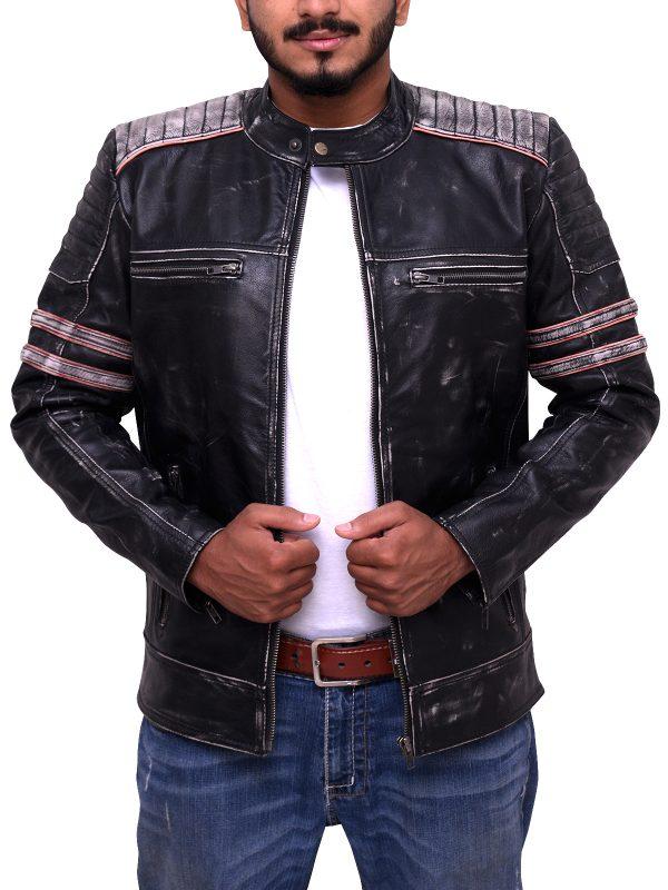Yamaha biker jacket, Ducati leather jacket