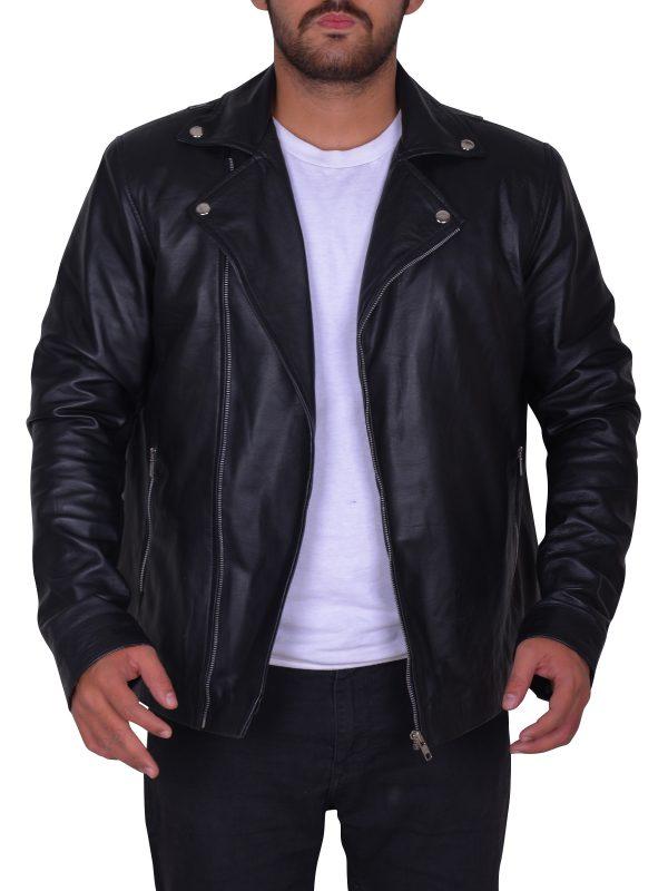 dashing brando jacket, black brando jacket for men, brando leather jacket for men