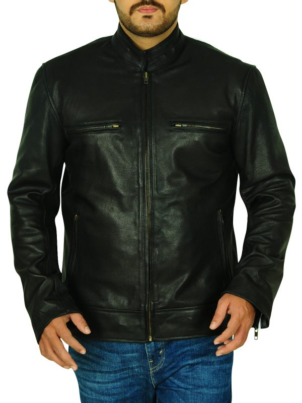real leather biker jacket, harley davidson leather jacket