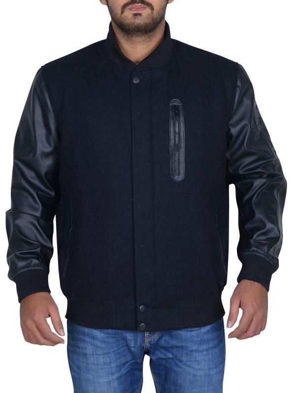 fashionable leather jacket, trendy leather jacket