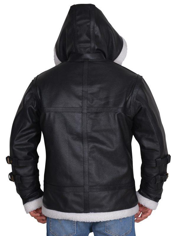 Trending leather jacket, hoodie leather jacket