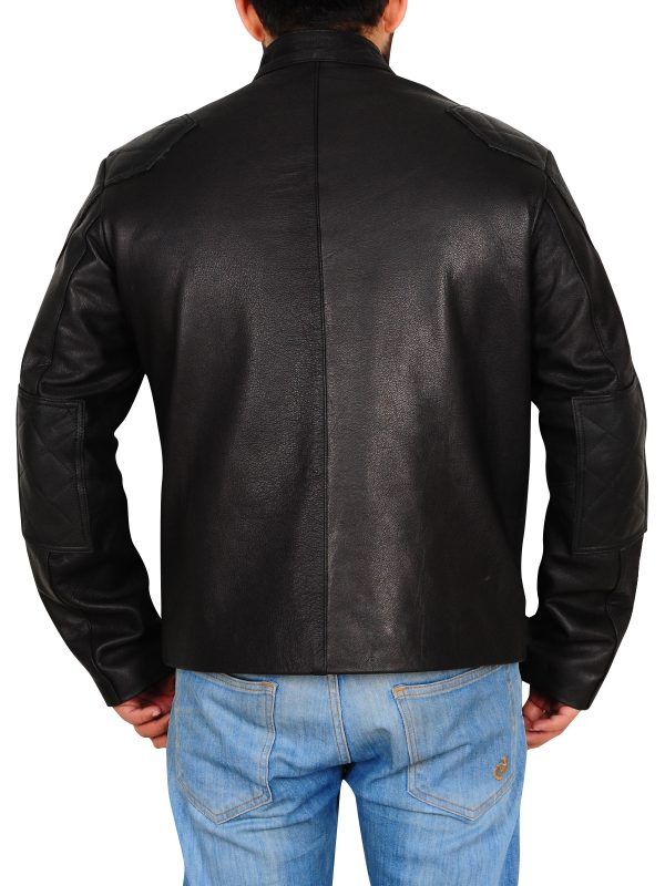 real leather biker jacket, dashing biker jacket