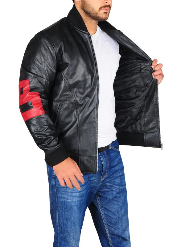 custom made leather jacket, plus size leather jacket