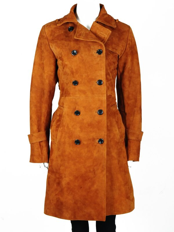 mauvetree long coat, lucifer brown coat