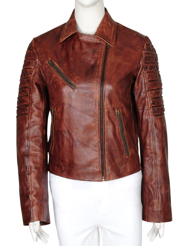 cool brown leather jacket, best price