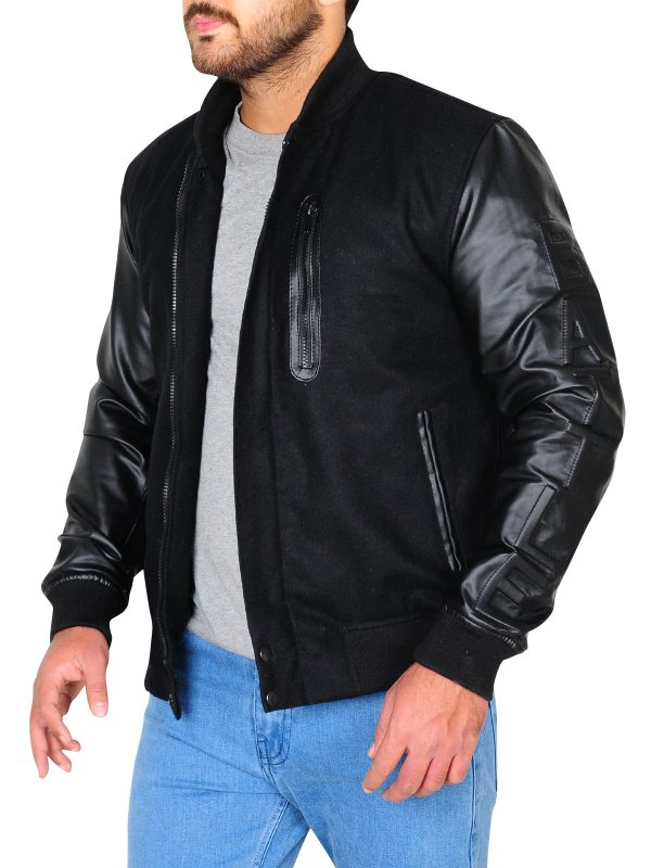 cool leather jacket for americans, pure leather jacket for men