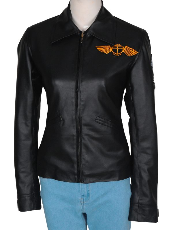 slim fit black leather jacket, cheap price leather jacket
