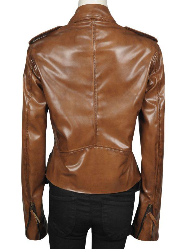 slim fit girl leather jacket, female cool leather jacket