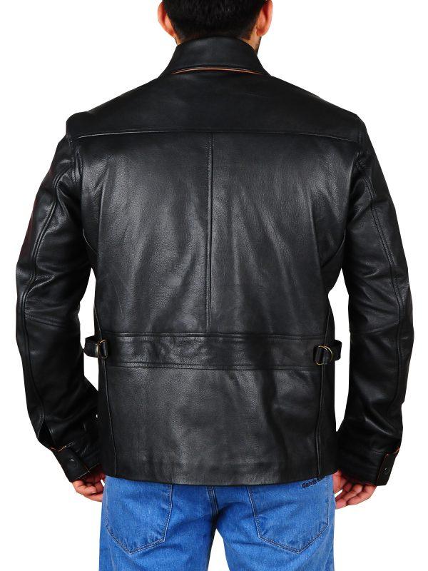 slim fit leather jacket, cool teen jacket