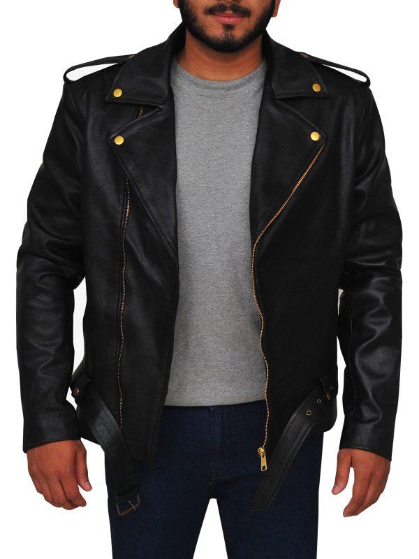 johnny depp black jacket, johnny depp brando jacket