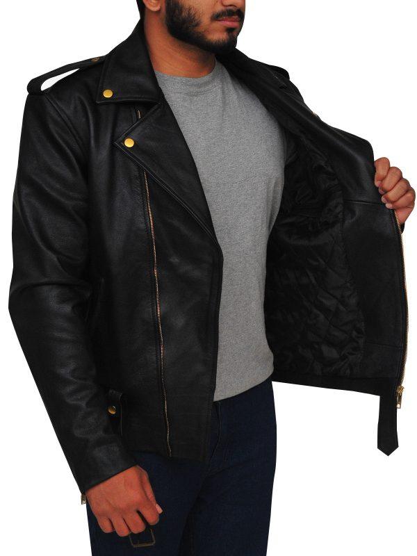 black brando leather jacket, brando leather jacket for men
