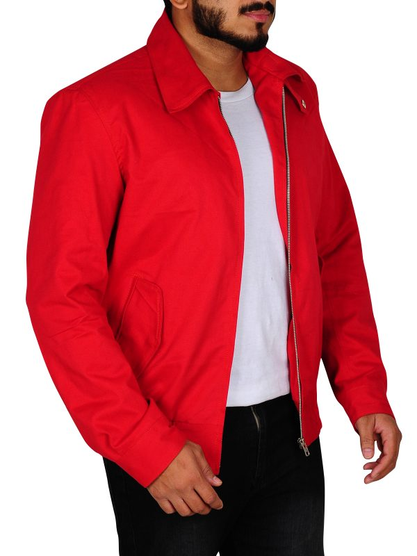 teen red leather jacket, red leather jacket for parties