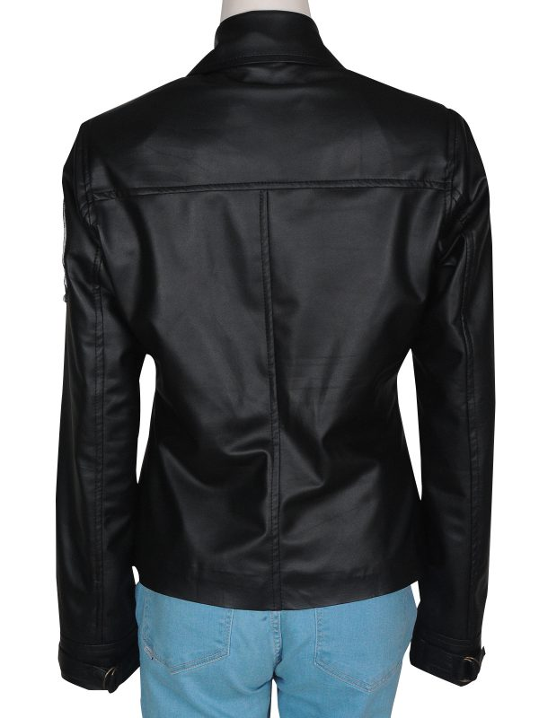 aviation girl leather jacket, pure leather aviation jacket