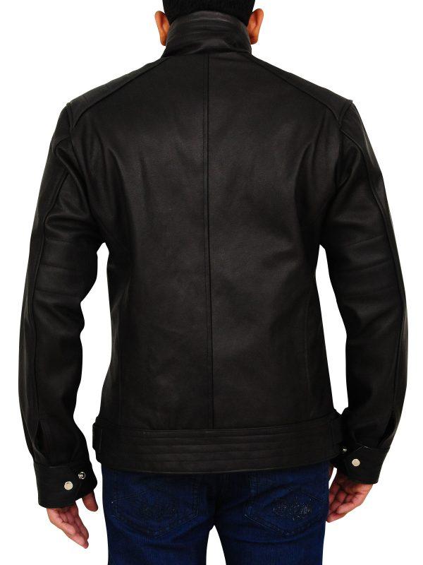 celebrity leather jacket, popular black leather jacket